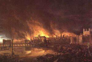 Incendio de Londres - historia de los seguros