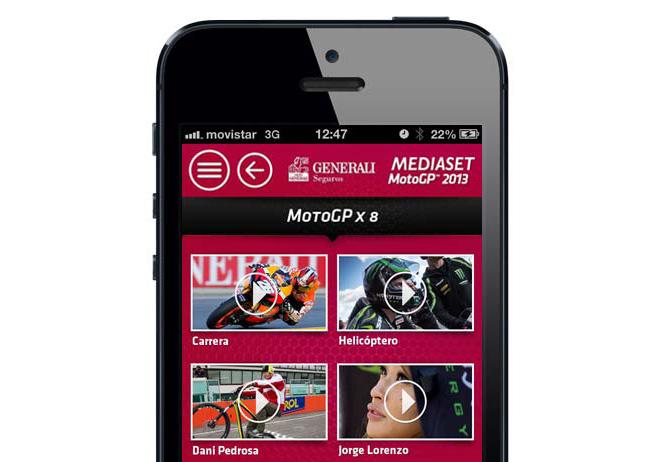 La aplicación Generali MotoGP, medalla de bronce en los Premios ÑH de diseño 'online'