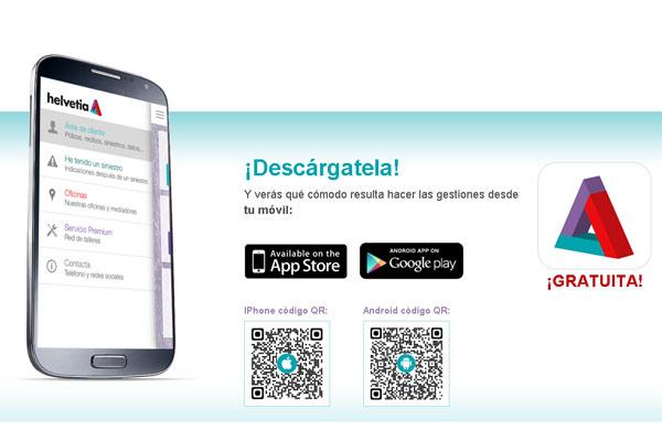 Helvetia lanza su nueva aplicación para smartphone