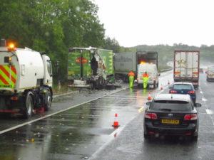El seguro de camión puede ayudarte en caso de accidente grave