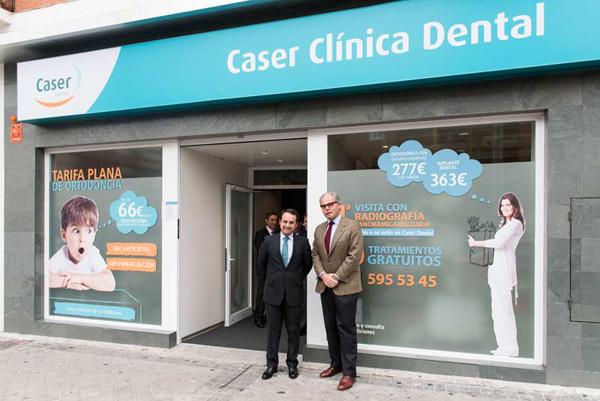 Caser Seguros ya ofrece sus servicios de salud dental desde la nueva clínica de Móstoles