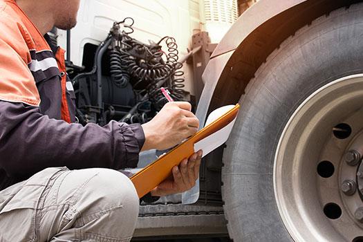 mantenimiento del camion