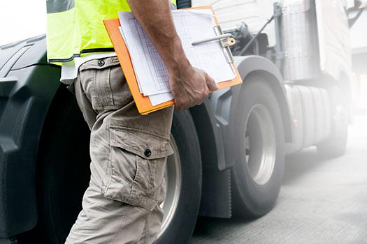 revision del camion - mantenimiento de los camiones