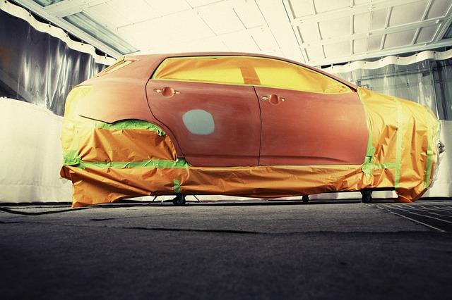 El seguro de coche se hace cargo del 69% de las reparaciones de chapa y pintura.