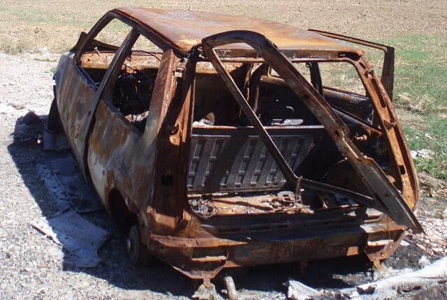 La cobertura de incendio cubre los daños en el coche por incendio producido por la caída de un rayo o una explosión