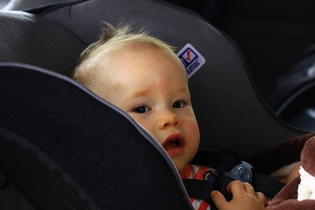 Sillitas para niños seguros en coche