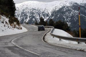 El Seguro de Coche atiende más accidentes en Navidad por el invierno
