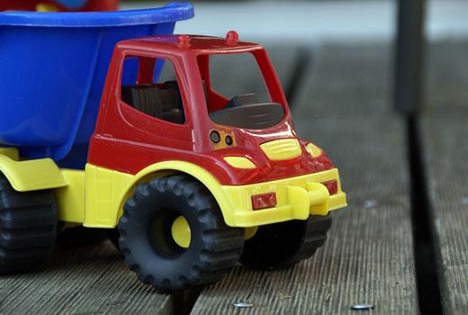 Camiones seguros para los niños