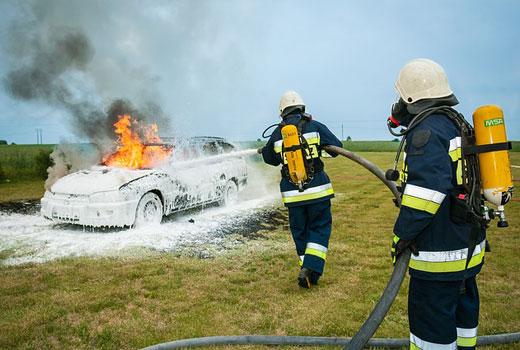 El Seguro del Vehículo puede cubrir un incendio