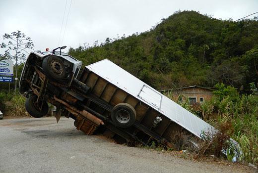 Seguro para camiones en accidentes