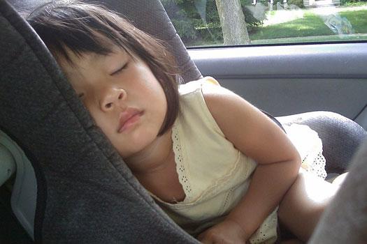 El asiento más seguro para los niños en el coche