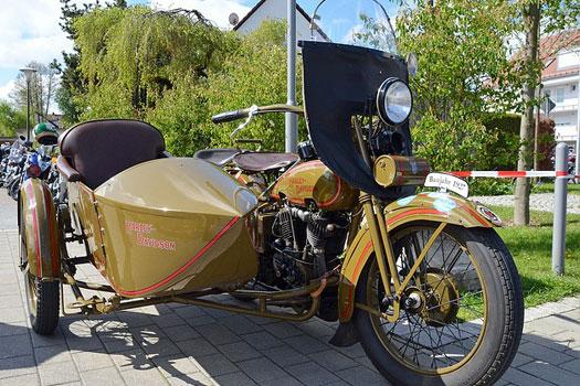 Seguro de Moto Clásica, Harley Davidson antigua