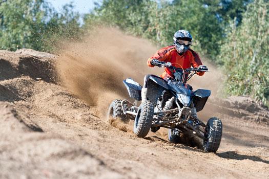quad en competición