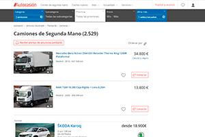 Comprar camiones en Autocasion
