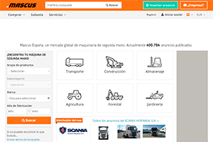 Comprar camiones usados y maquinaria en Mascus
