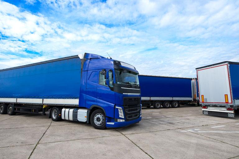 parking seguro para camiones