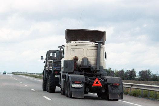 Asistencia de camión remolque