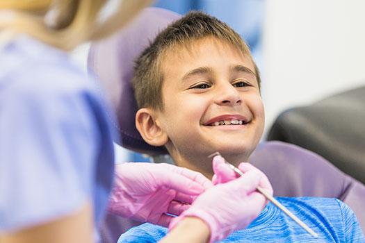 Dentista para niños - Visitar al dentista con niños