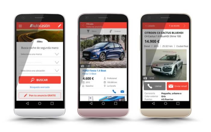 comprar coches con Autocasion - segunda mano y vehiculos nuevos
