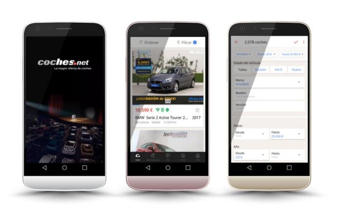 Coches.net aplicacion - comprar coches usados online