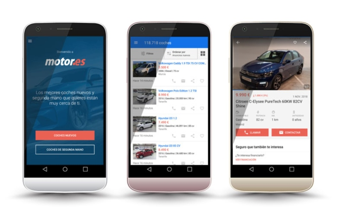 Motor.es - coches nuevos y de segunda mano en el movil