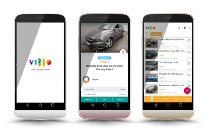 App Vibbo Motor - comprar coches en Vibbo