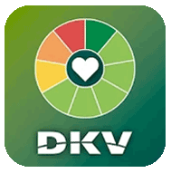 DKV app I want to take care of myself