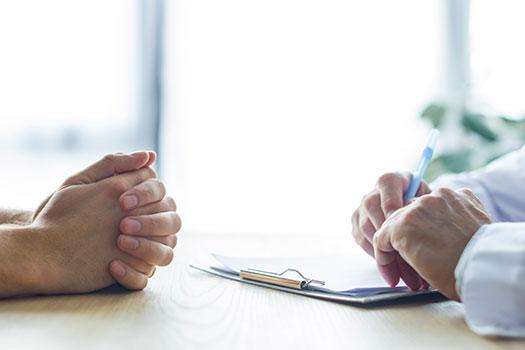 Seguro de reembolso - consulta con el medico