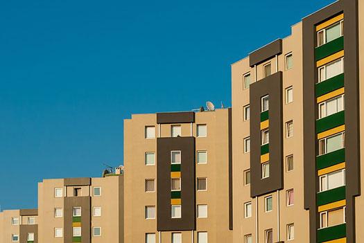 edificio residencial - seguro de comunidades