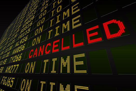 Sólo al 20% de los viajeros que cancelan su viaje les cubre un Seguro