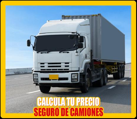Calcula el precio de tu Seguro para Camiones