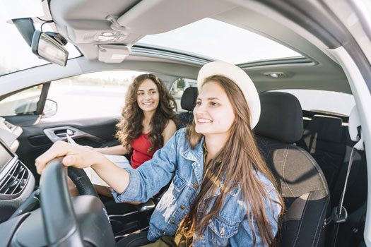 conductor novel - ocasional y seguro de automovil