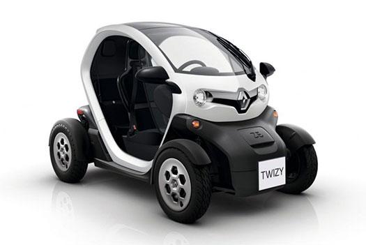 Renault Twizy - coche sin carnet eléctrico