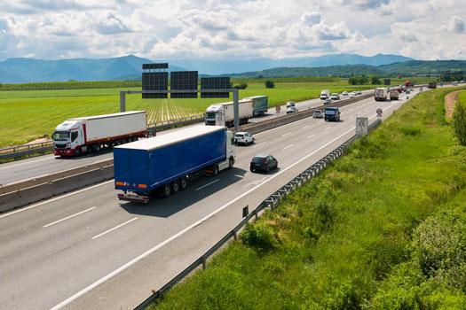 multas por exceso de peso del camion