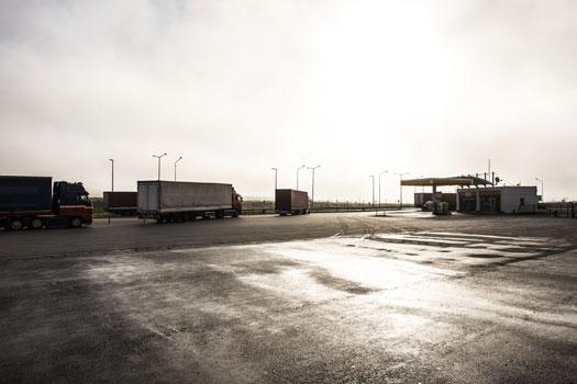 gasolineras y estaciones de servicio - camioneros transportistas