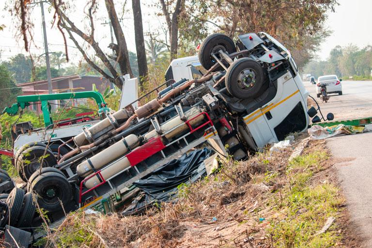 accidente mortal de camión