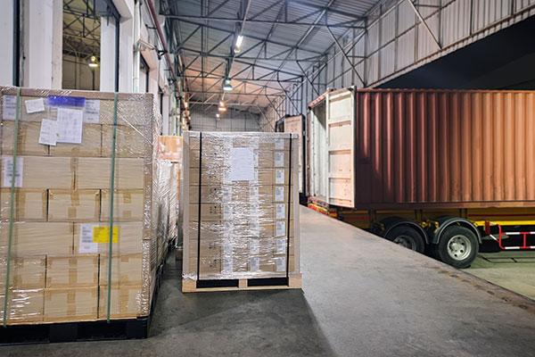 seguro de la carga del camión